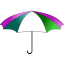 download Umbrella Colorful clipart image with 315 hue color