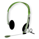 download Headphones clipart image with 225 hue color