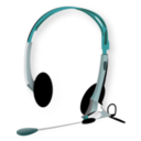 download Headphones clipart image with 315 hue color