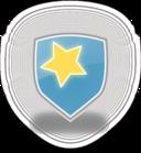 Blue Shield Star Icon