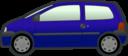 Blue Twingo