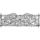 Vines And Trellis Stylized