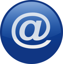 Email Blue