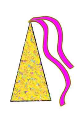 Colored Party Hat