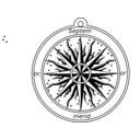 Compass Rose 1595