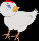 Chicken 001 Figure Color
