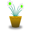 download Flower Pot clipart image with 45 hue color