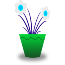 download Flower Pot clipart image with 135 hue color