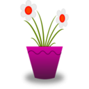 download Flower Pot clipart image with 315 hue color