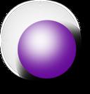 Kugel Lila 1