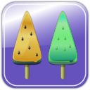 download Melon Ice Candies clipart image with 45 hue color