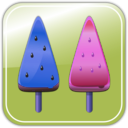 download Melon Ice Candies clipart image with 225 hue color