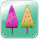 download Melon Ice Candies clipart image with 315 hue color