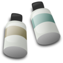 download Bottles Of Dye Ink clipart image with 45 hue color