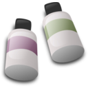 download Bottles Of Dye Ink clipart image with 315 hue color
