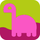 download Light Dino Avatar Icon clipart image with 225 hue color