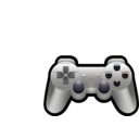 download Playstation Controller clipart image with 45 hue color