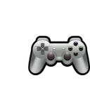 download Playstation Controller clipart image with 135 hue color