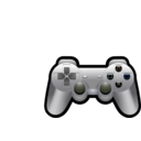download Playstation Controller clipart image with 225 hue color