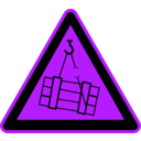 download Signs Hazard Warning clipart image with 225 hue color