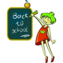 download School Days clipart image with 45 hue color