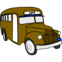 download Bus clipart image with 45 hue color