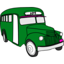 download Bus clipart image with 135 hue color