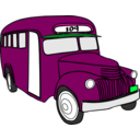 download Bus clipart image with 315 hue color