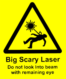Scary Laser