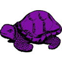 download Tortoise clipart image with 225 hue color