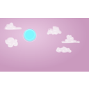 download Daysky clipart image with 135 hue color