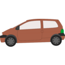 download Twingo clipart image with 135 hue color