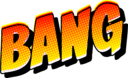 Bang Vintage Comic Book Sound Effect