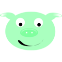 download Cerdo Pig clipart image with 135 hue color