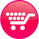 download Shopping Cart clipart image with 315 hue color