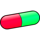 download Pill clipart image with 135 hue color