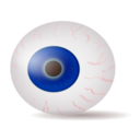 Eyeball Blue Realistic