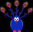 Amazing Peacock