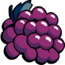 download Grapes clipart image with 45 hue color