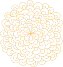 Rosette Flower Clipart