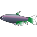 download Bloodfin Tetra clipart image with 135 hue color