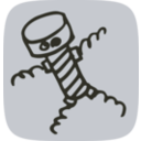 download Screw Man clipart image with 135 hue color