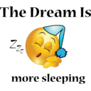 More Sleeping Dream Smiley Emoticon