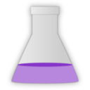 download Conical Flask clipart image with 225 hue color