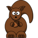 Cartoon Squirrel