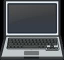 White Laptop Notebook Netbook