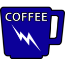 download Coffee Mug clipart image with 225 hue color