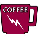 download Coffee Mug clipart image with 315 hue color