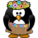 Hula Dancer Penguin