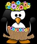 Hula Dancer Penguin